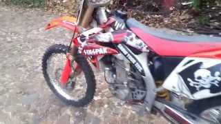 2. HONDA CRF 450 R  2008