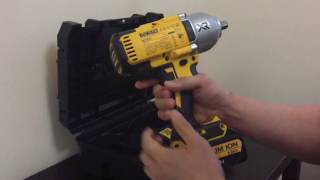 DEWALT DCF899 Impact Driver Review + Cheap + Hog ring + Detent pin