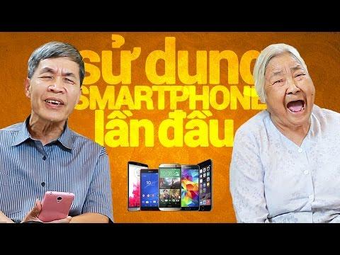 Lần đầu sử dụng Smartphones...