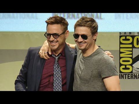 OF - Avengers 2 Age of Ultron Comic Con 2014 Panel Subscribe Now! ▻ http://bit.ly/SubClevverMovies The cast of 'Avengers: Age of Ultron' take the stage at Comic Con to talk about next summer's...