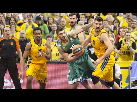 Highlights: ALBA Berlin-Panathinaikos Athens