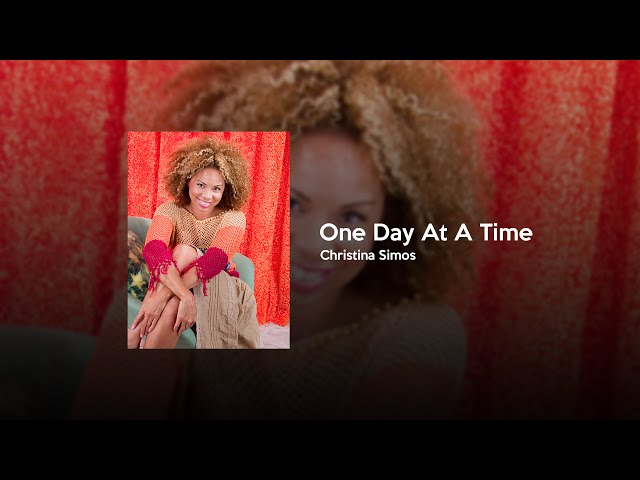 Christina Simos - One Day at a Time