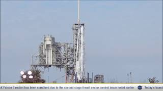 SpaceX Postpones Launch of Tenth Cargo Mission to the International Space Station by NASA