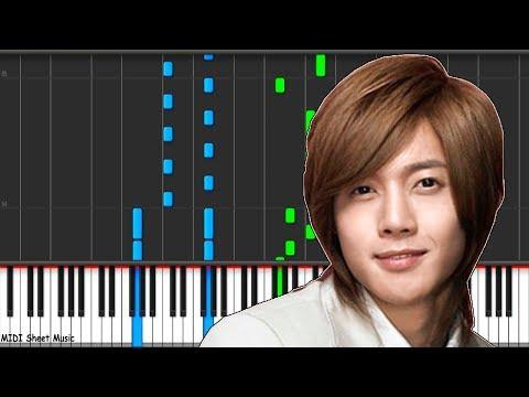 Boys Over Flowers - Paradise Piano midi
