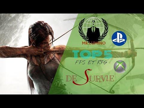 TOP 5 : jeux d'action et fps [XB360 , PS3] VF