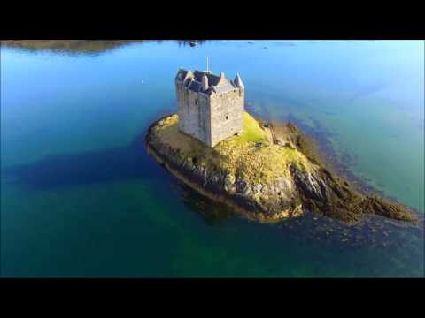 Glencoe Drone Flight (видео)