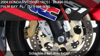 5. 2004 HONDA RVT1000R / RC51 NICKY HAYDEN EDITION for sale in