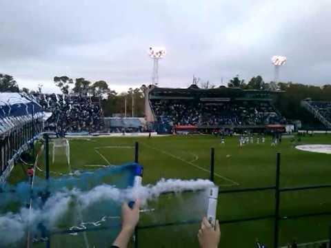 Recibimiento a Gimnasia y Esgrima La Plata Copa Sudamericana - La Banda de Fierro 22 - Gimnasia y Esgrima