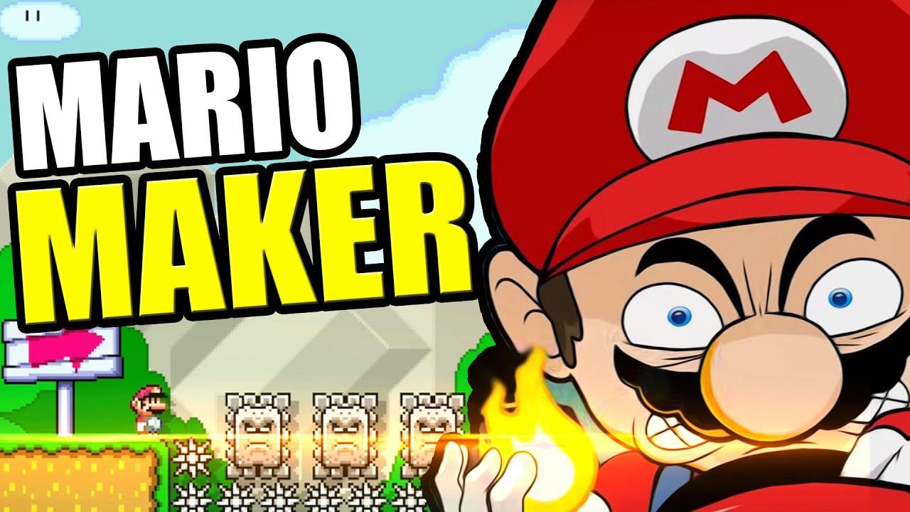 LOS NIVELES IMPOSIBLES DE MARIO   Super Mario Maker #rubius #rubiusomg