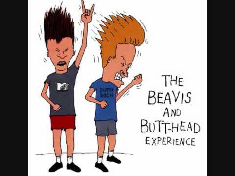 The Beavis and Butthead Experience-Search and Destroy-RHCP (видео)