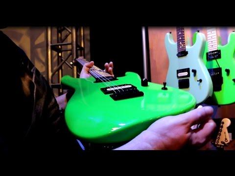 NAMM 2015 – CHARVEL + EVH + JACKSON GUITARS – Booth Walkthrough