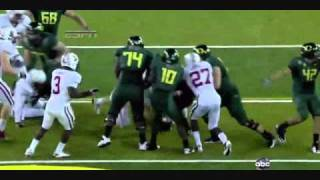 LaMichael James vs Stanford (2010)