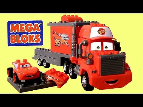 LEGO - Welcome to Blucollection ToyCollector. This is the MegaBloks Mack Truck Hauler with Lightning McQueen 7769 building toys from Disney Pixar Cars to build just like Lego and Lego-Duplo, the set...