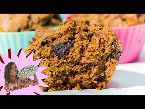 ricette vegan - muffin con farina di castagne