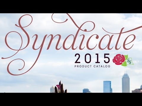 Syndicate's 2015 Product Catalog is Here!