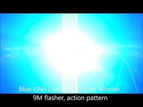 Whelen LFL Liberty LED lightbar custom setup