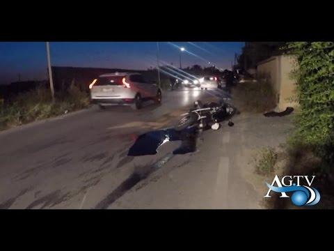 E' in prognosi riservata il motociclista agrigentino coinvolto nell'incidente stradale NewsAgtv