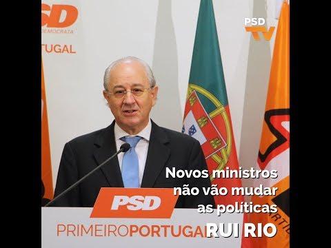 Novos ministros não vão mudar as políticas