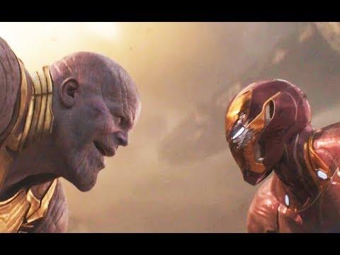 "Avengers Infinity War ""Thanos vs Iron Man"" Español Latino (HD)"
