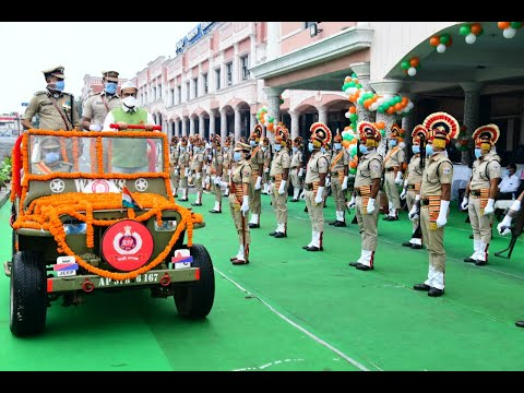Independence Day Celebrated by Waltair Division of East Coast Railway at Visakhapatnam,Vizagvision