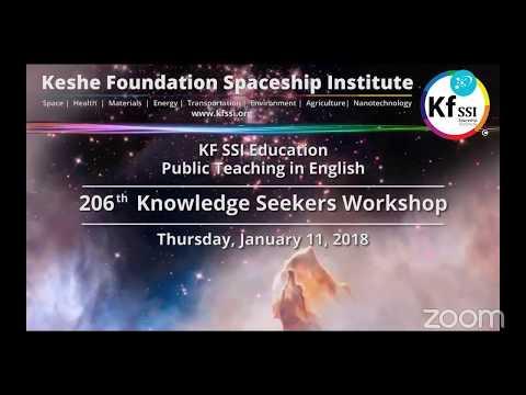 206th Knowledge Seekers Workshop Jan 11, 2018