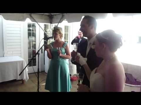 Julie's Matron of Honor Speech/Song (Sung to Taylor Swift's Love Story)