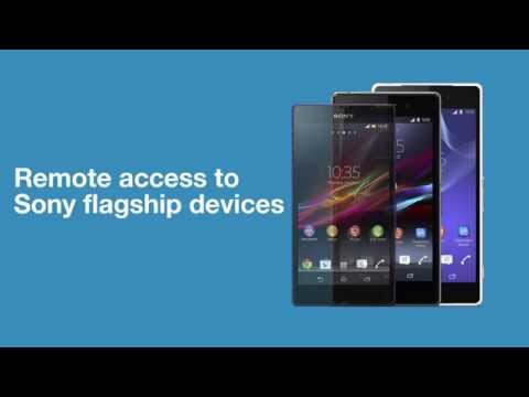 Verify your app on real Xperia devices with Sony's Remote Device Lab