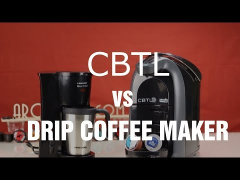 CBTL Single Serve Machine vs Drip Coffee Maker – Review and Comparison