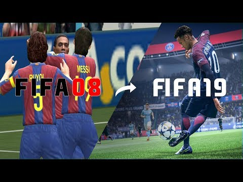 🔥 Every FIFA Trailer From FIFA 2008 - FIFA 19 🔥
