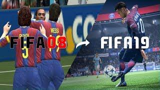 🔥 Every FIFA Trailer From FIFA 2008 - FIFA 19 🔥