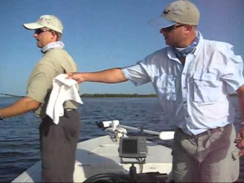 Flats Fishing The Mosquito Lagoon Near Orlando Florida