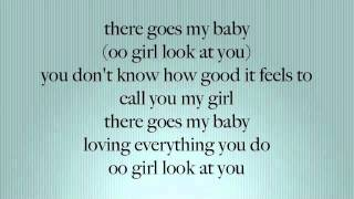 There Goes My Baby - Usher ( Lyrics On Screen ]
