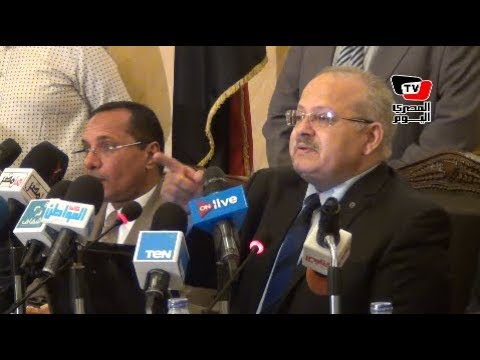 «الخشت»: أولويات جامعة القاهرة هي تجديد الخطاب الديني