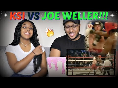 KSI VS JOE WELLER FIGHT HIGHLIGHTS REACTION!!! (видео)