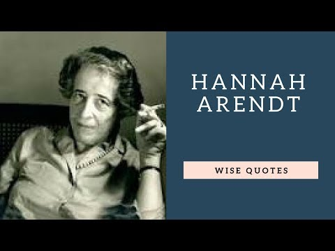Short quotes - Hannah Arendt Sayings Quotes  Positive Thinking & Wise Quotes Salad  Motivation  Inspiration