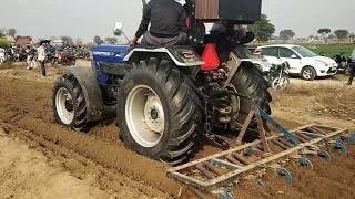 farmtrac6080 draver चेंज कर के कल्टीवेटर में 80 hp का ट्रैक्टर
