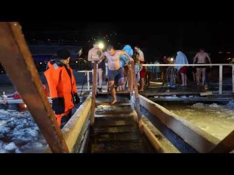 Крещенские купания на борисовских прудах : смотреть видео онлайн на templaynoru