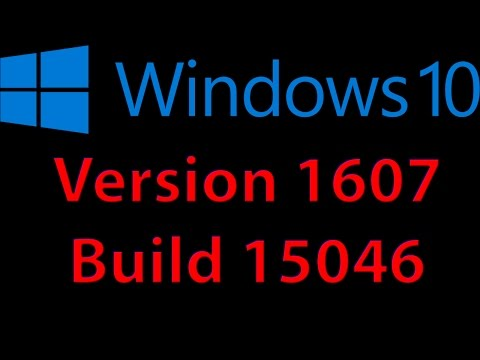 What's new in Windows 10 Pro Version 1607 - Build 15046 (2017)
