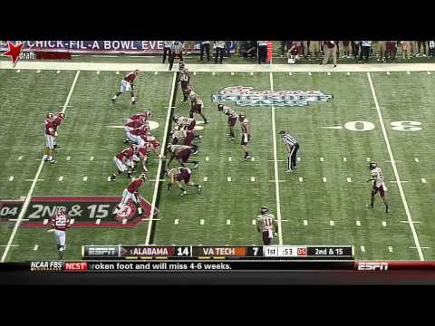 Luther Maddy vs Alabama 2013 video.