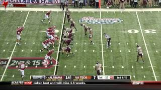 Luther Maddy vs Alabama (2013)
