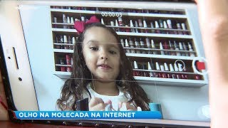 Perigos das crianças na internet