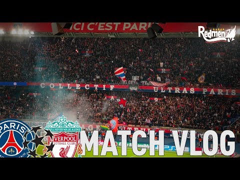 PSG V Liverpool 2-1 | Away Day Vlog