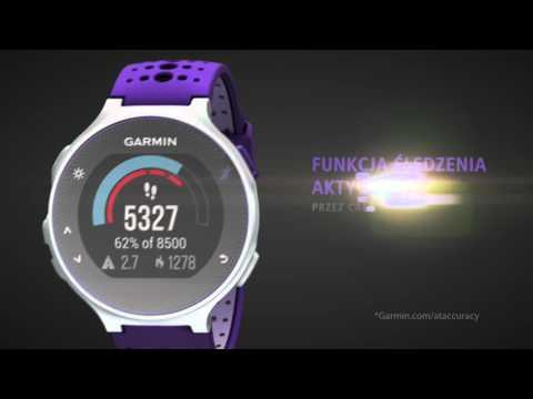 Zegarek sportowy z GPS GARMIN Forerunner 230 Fioletowo-biały