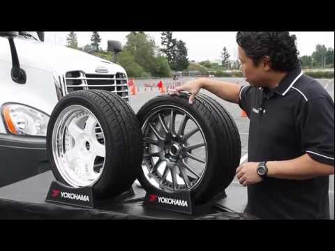 Yokohama Tire Tips #7 - How-To Read the Sidewall of Your Tire