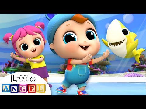 Baby Shark Dance at the Aquarium | Nursery Rhymes by Little Angel - Thời lượng: 3 phút, 35 giây.