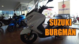 5. Suzuki Burgman 200