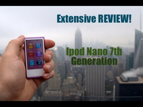 ipod Nano review - Hey Guys! This is FearxxxMExxx. Today, I'm showing you my brand new Ipod Nano 7th Generation. Here are the specs, in case you're interested in acquiring it: ...