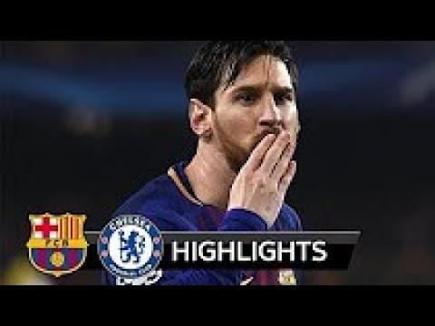 Barcelona vs Chelsea 3-0 All Goals & Highlights 14/03/2018