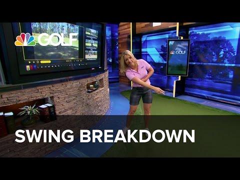 Swing Breakdown – Lesson Tee Live   Golf Channel