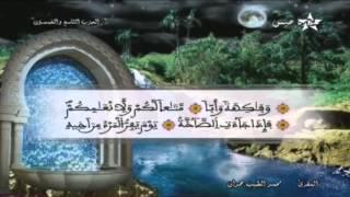 المصحف المرتل الحزب 59 للمقرئ محمد الطيب حمدان HD